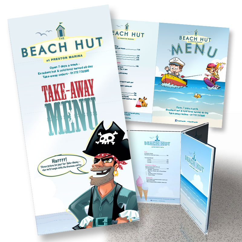 Beach Hut menus